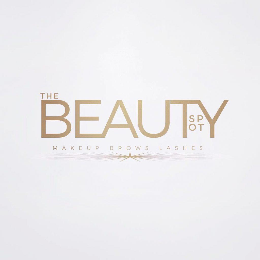 beauty spot logo white